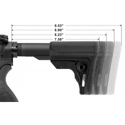 UTG PRO AR15 Ops Ready S4 Mil-spec Stock Kit, Black All Products
