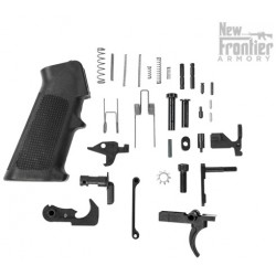 New Frontier Lower Parts Kit LPK AR-15 complete with Grip All Products