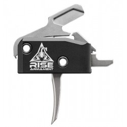 RISE ARMAMENT RA-434 HIGH PERFORMANCE TRIGGER - SILVER WITH ANTI-WALK PINS, Add to Cart for free gift All Products