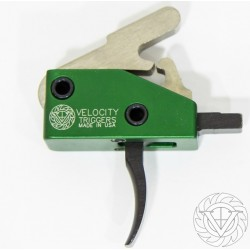 VELOCITY TRIGGER VELO9 AR-15 DROP-IN 4LB CURVED - Plus choice of free accessory All Products